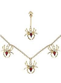 Kit de bijoux araignées