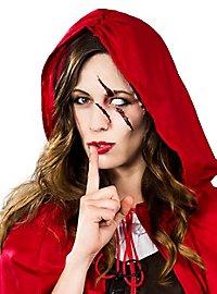 Kit de maquillage Petit chaperon rouge horrifique