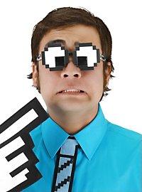 Kit lunettes yeux pixélisés