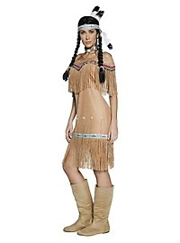 Klassische Indianerin Kostüm