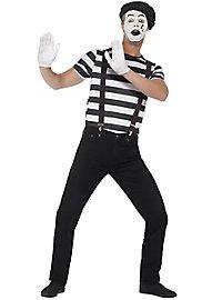 Klassischer Pantomime Kostüm