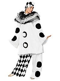Klassischer Pierrot Kostüm