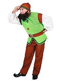 Klassischer Zwerg grün Kostüm
