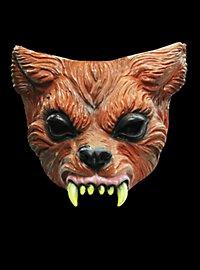 Kleiner Werwolf Halbmaske aus Latex