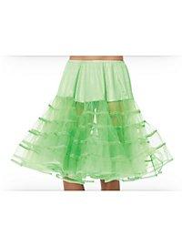Knee-length Petticoat green