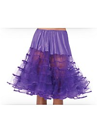 Knee-length Petticoat violet