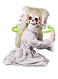 Kneeling Geist Girl Animated Halloween Decoration
