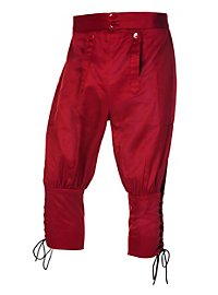 Knickerbockers with Lacing burgundy