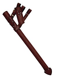 Knight Scabbard & Frog brown