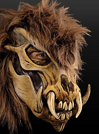 Knochenkeiler Maske aus Latex