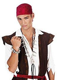 Knochenkette Pirat