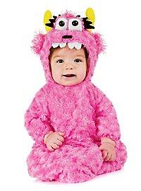 Knuddelmonster Babysack Babykostüm pink