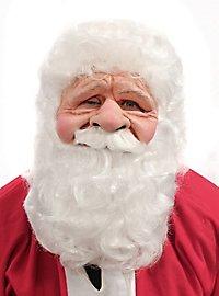 Knuffiger Weihnachtsmann Maske