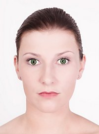 Grüne Kontaktlinsen - Motiv Kobold