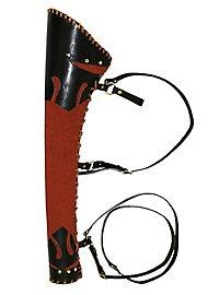 Köcher - Orel, rot-schwarz