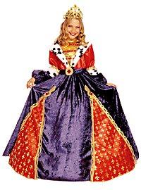 Königin Kinderkostüm