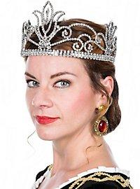 Königin Krone silber