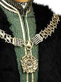 Königliche Halskette mit Tudor Rose gold
