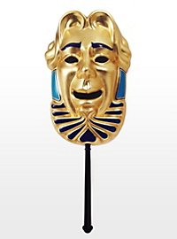 Komische Maske Commedia dell´arte Stabmaske
