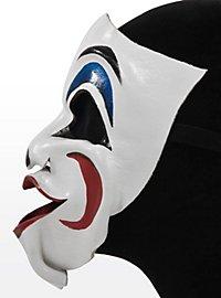 Komischer Clown Ledermaske