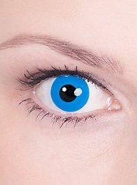 Kontaktlinse blau mit Dioptrien