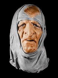 Kräuterhexe Maske aus Schaumlatex