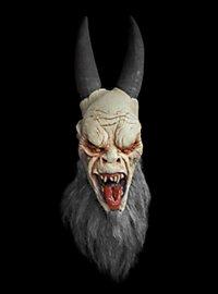 Krampus Maske aus Latex