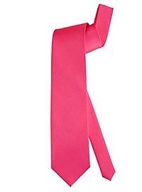 Krawatte Satin pink