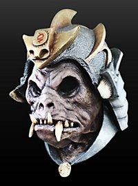 Kriegsdämon Maske aus Latex