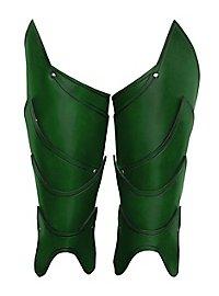 Beinschienen - Kriegsherr grün