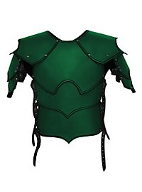 Kriegsherr Lederrüstung grün
