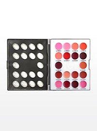 Kryolan LipRouge Mini-Palette 18 Farben LC