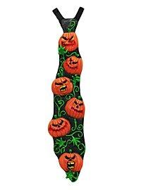 Kürbis Krawatte aus Latex