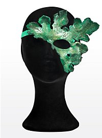 Kürbisblatt Halbseitige Augenmaske aus Leder
