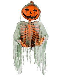 Kürbistorso Halloween Deko