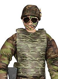 Kugelsichere Weste Camouflage für Kinder