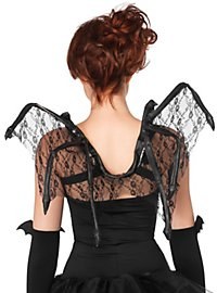 Lace Bat Wings