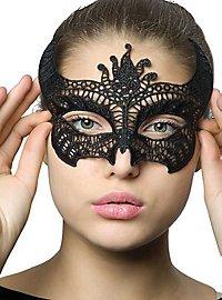 Lace eye mask devil