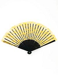 Lace Fan yellow