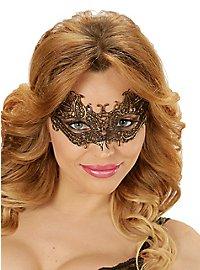 Lace mask gold