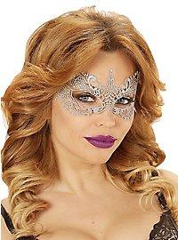 Lace mask ivory