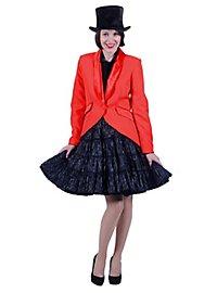 Ladies Tailcoat Deluxe red