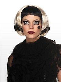 Lady Gaga Wig black & blond