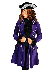 Lady Pirate Coat Velvet purple
