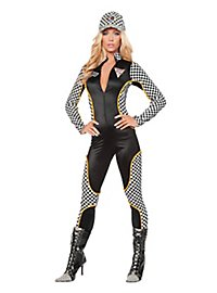 Lady Race Car Driver Costume