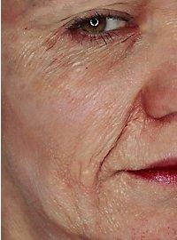Lait de latex peau âgée