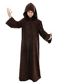 Lange Robe braun für Kinder