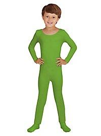 Langer Body für Kinder grün