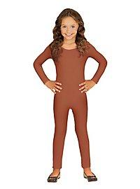 Langer Body für Kinder hautfarben
