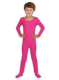 Langer Body für Kinder pink